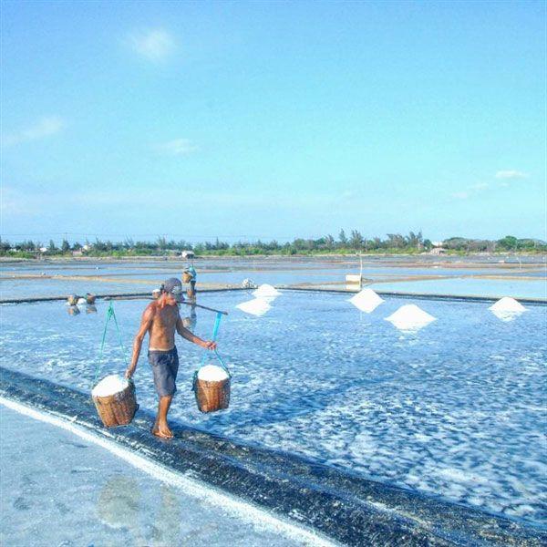 Đảo Thạnh An - Cánh đồng muối