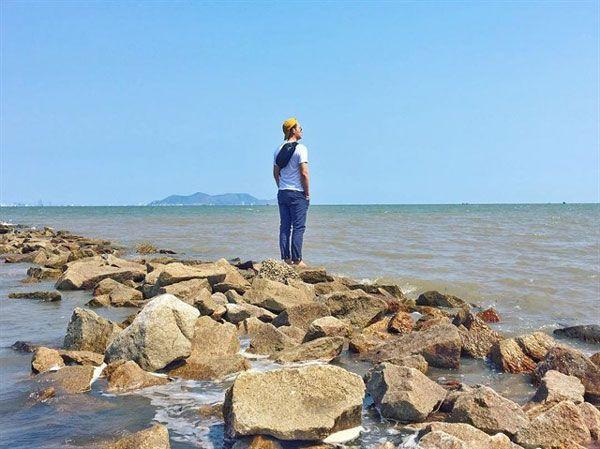 Đảo Thạnh An - Con đường đá 1