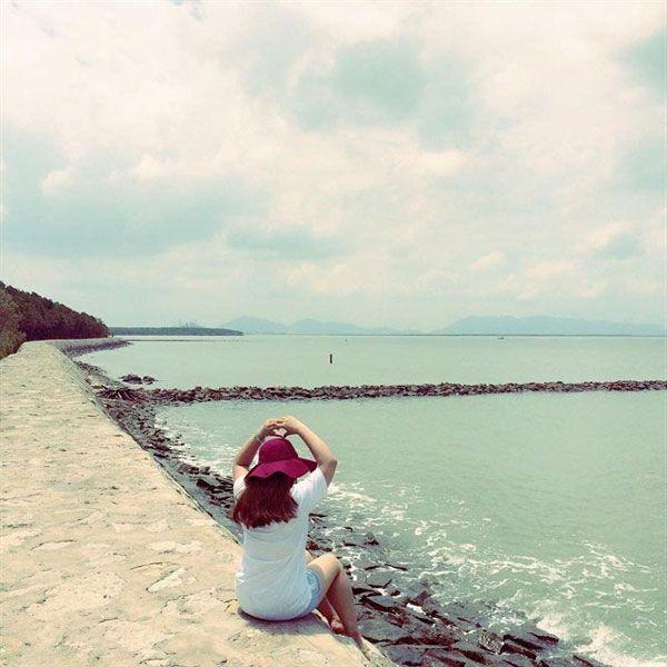 Đảo Thạnh An - Con đường đá 5