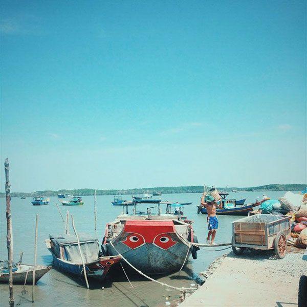 Đảo Thạnh An - Cuộc sống ngư dân