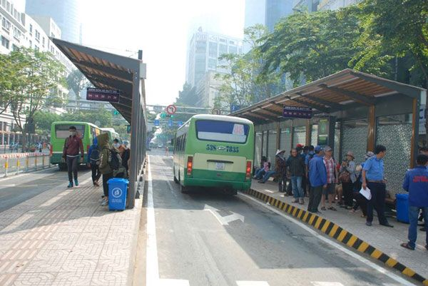 trạm xe bus Bến Thành mới