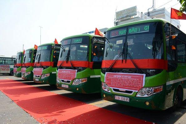 tuyến xe bus số 75 Sài Gòn - Cần Giờ